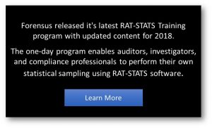 OIG RAT STATS Probe Sample and Discovery Sample